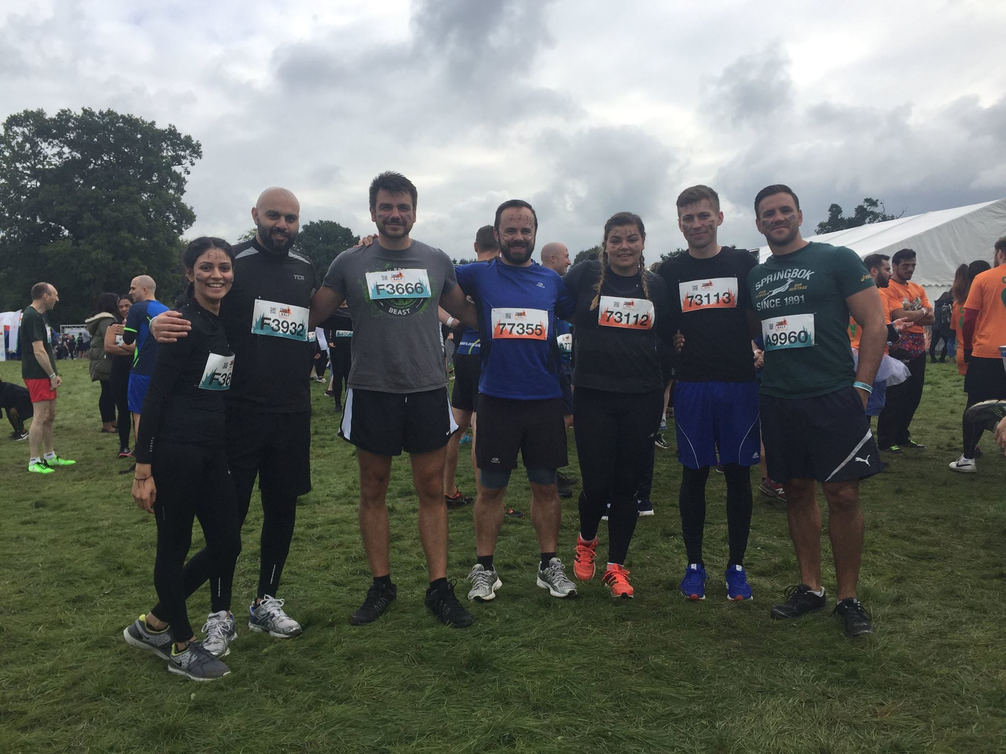 Team Tomorrow at London South Tough Mudder