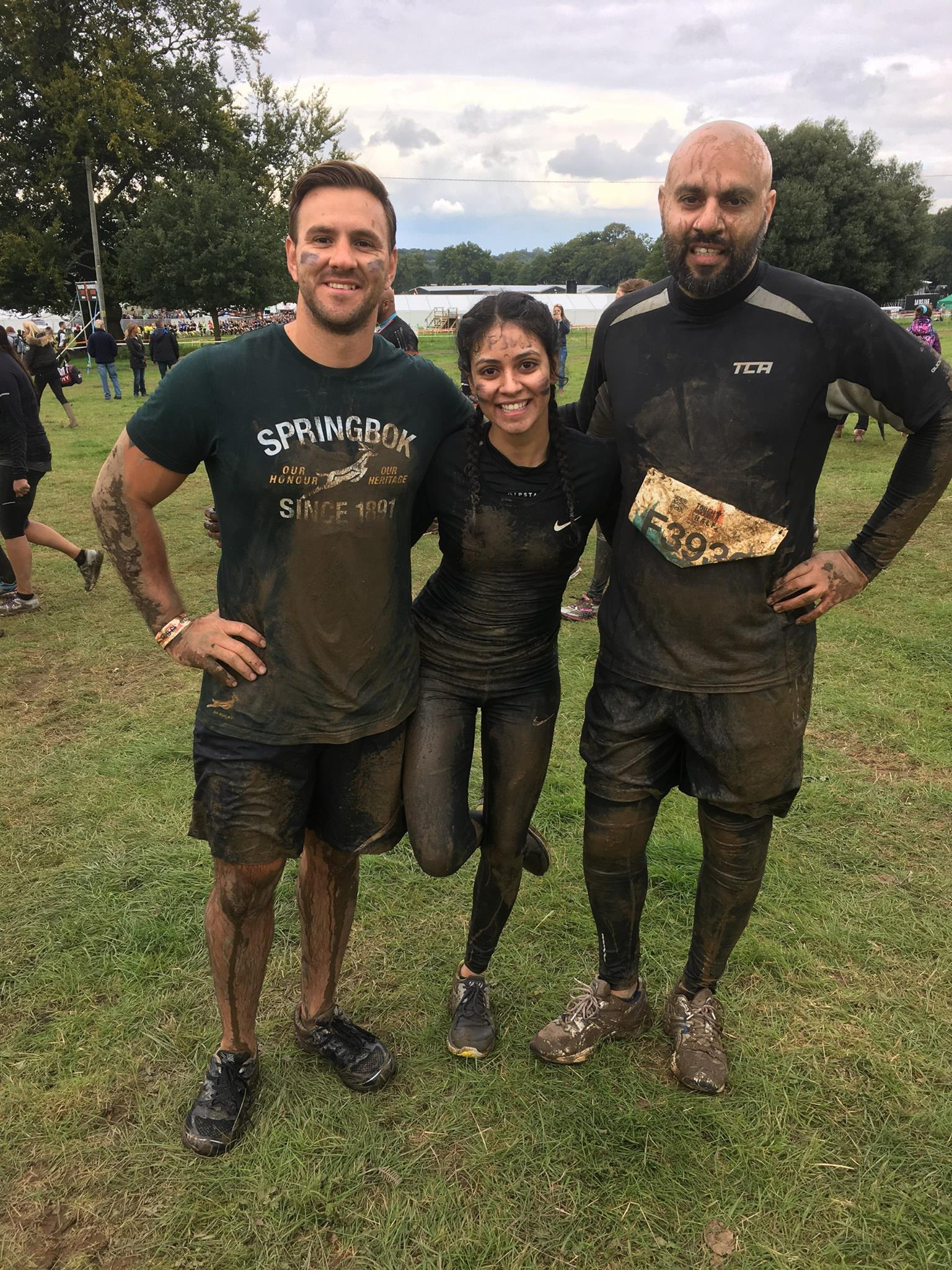 Tough Mudder London South Volunteers