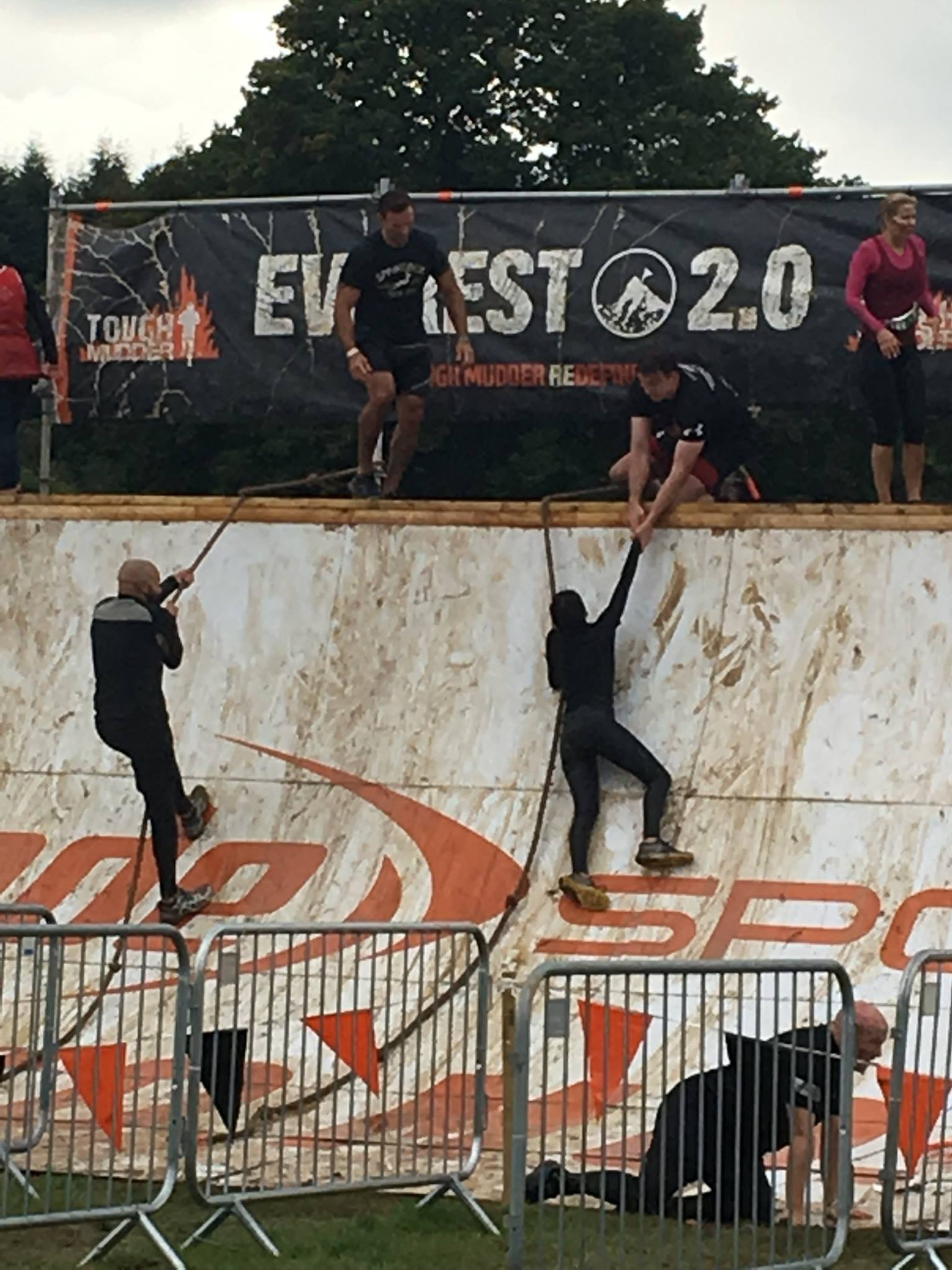 Tough Mudder Everest 2.0 obstacle