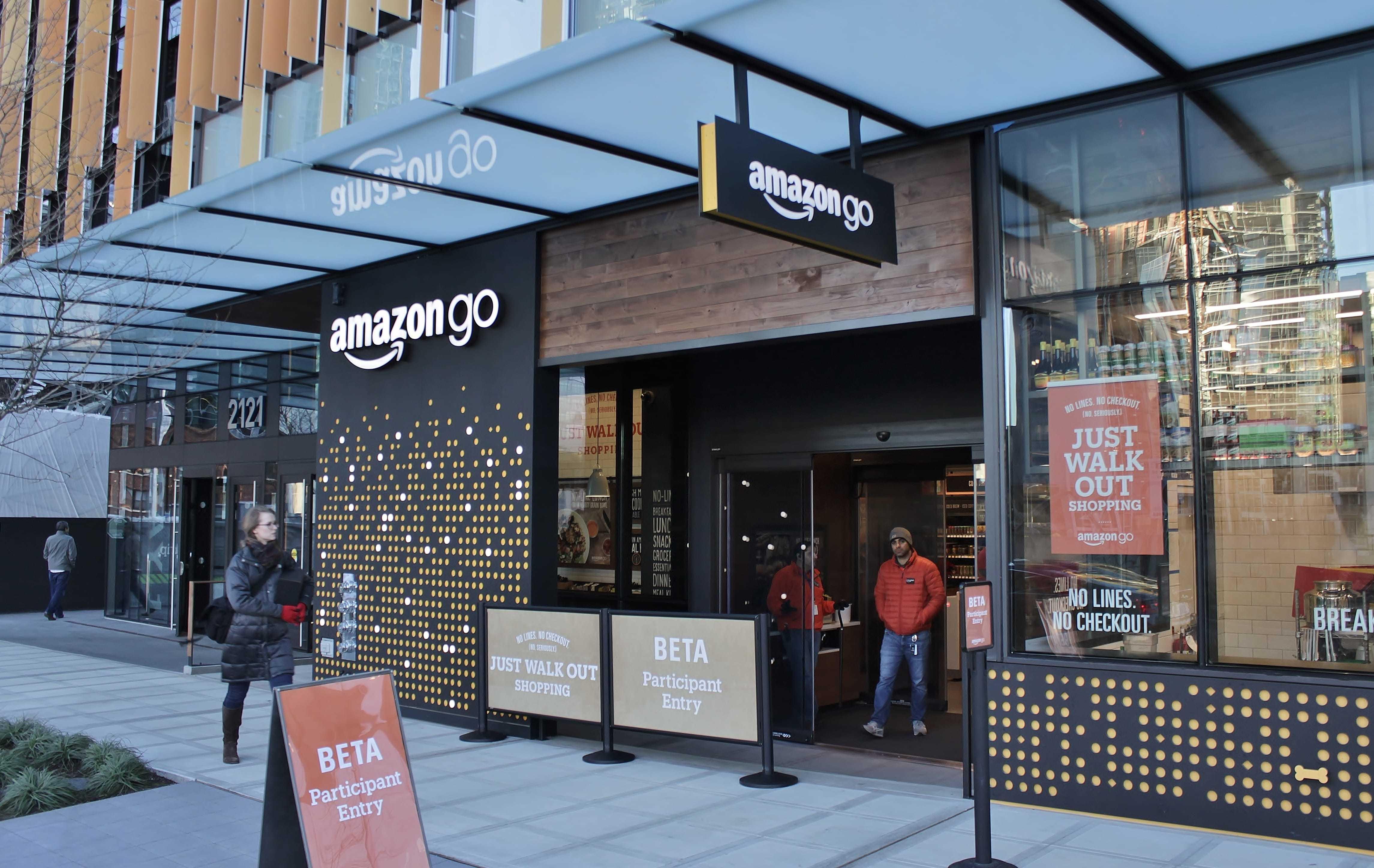 Amazon Go in Seattle