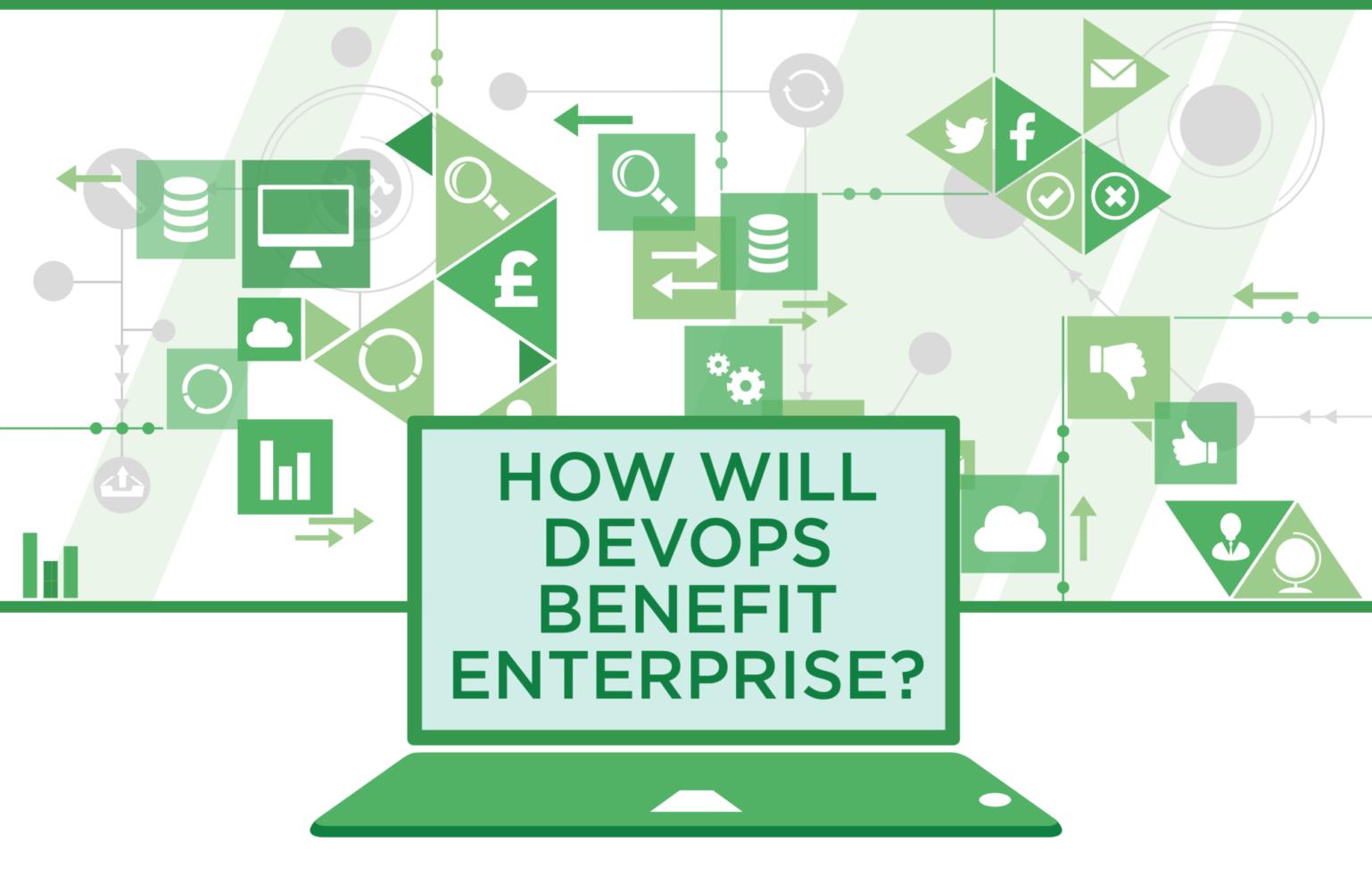 Infographic thumbnail for How will DevOps benefit enterprise