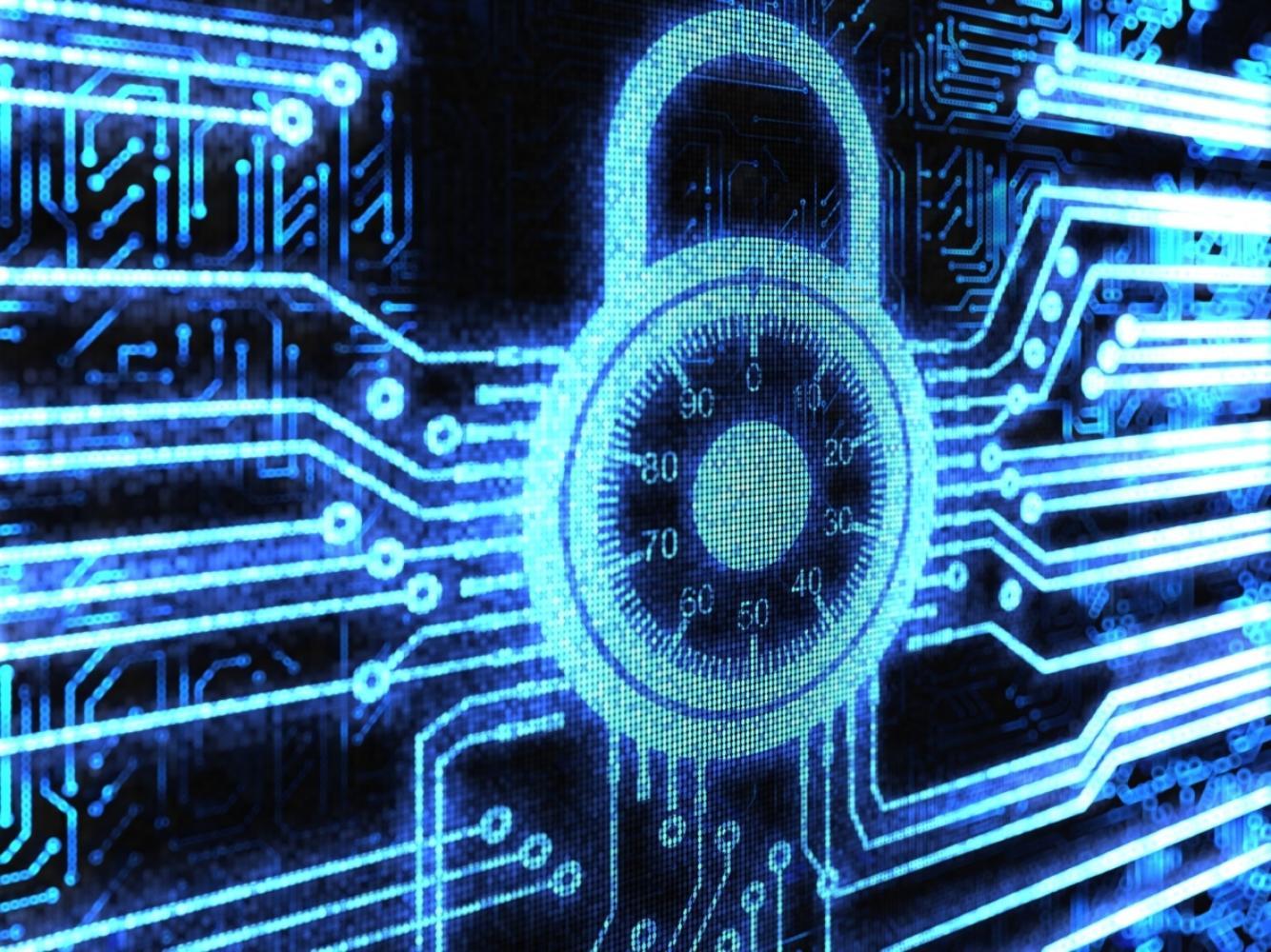 Digital padlock with combination lock