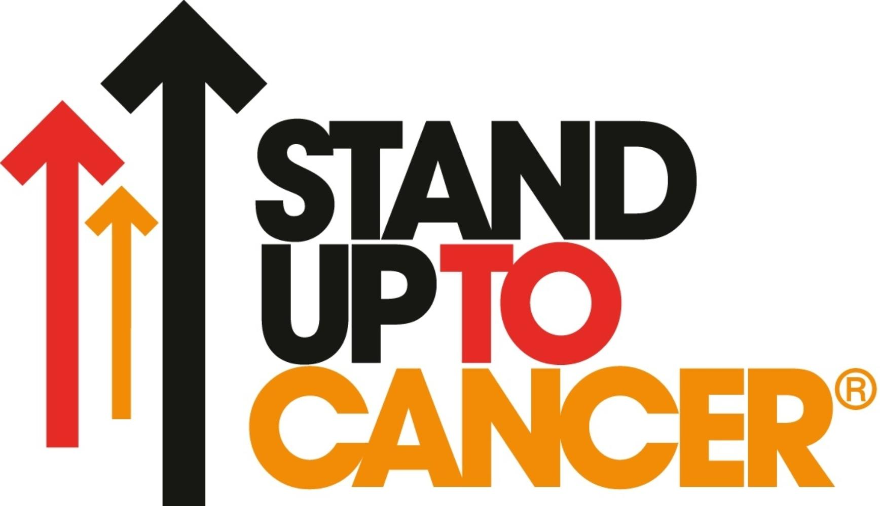 Stand up to cancer charity logo