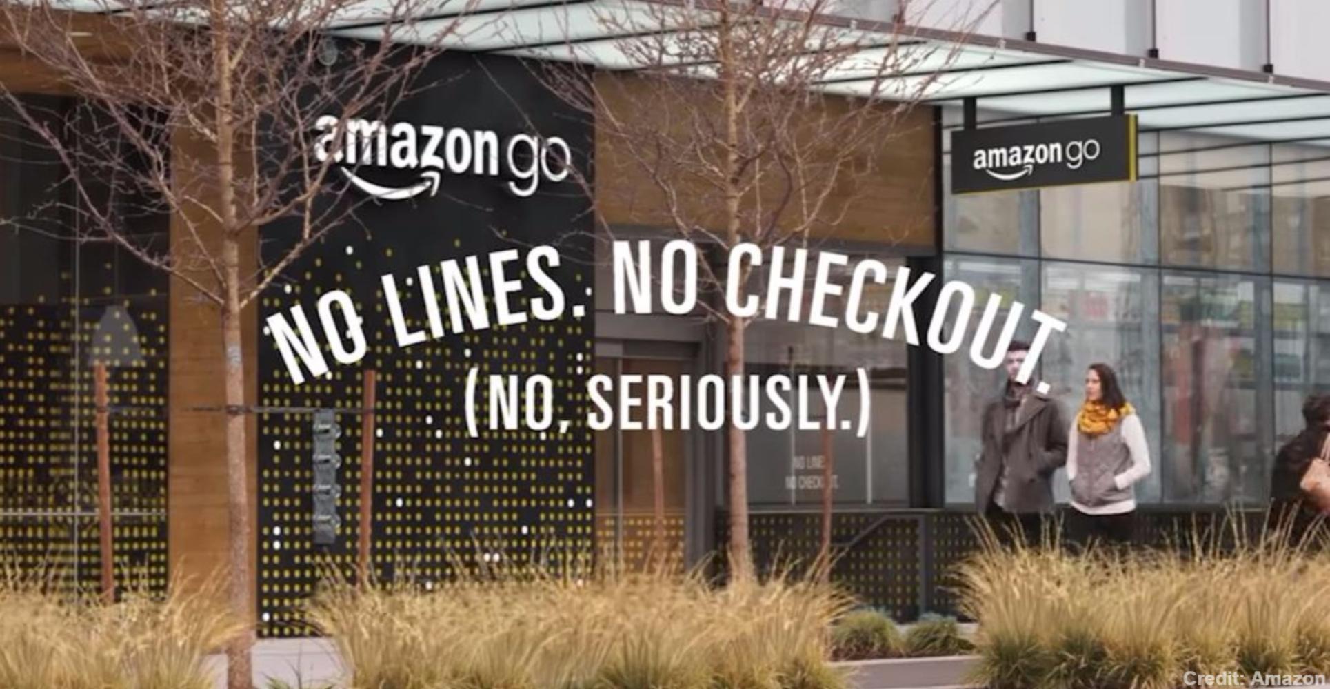 screen-capture of Amazon Go advert