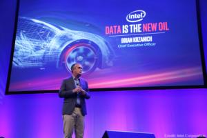 Intel's Brian Krzanich autonomous cars presentation