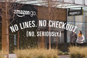 screen-capture of Amazon Go advert