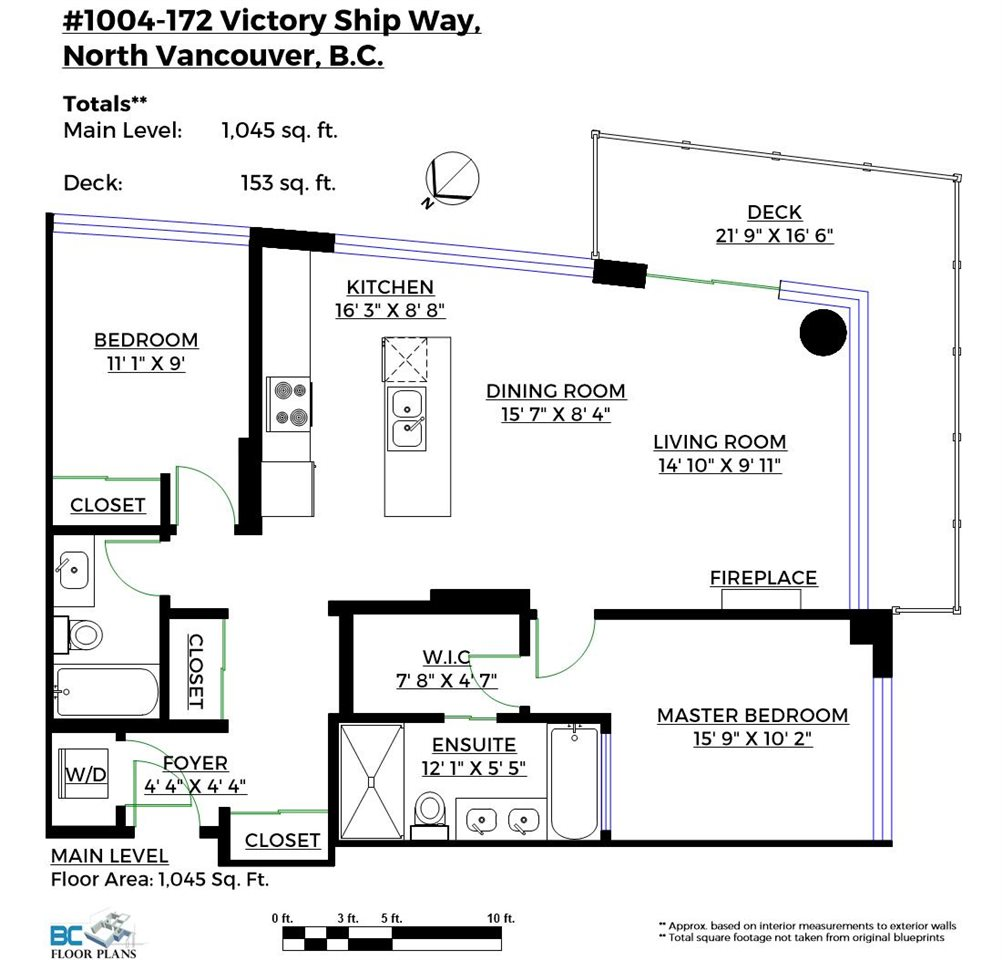 1004 172 VICTORY SHIP WAY, North Vancouver, BC, V7L 0B5 Primary Photo