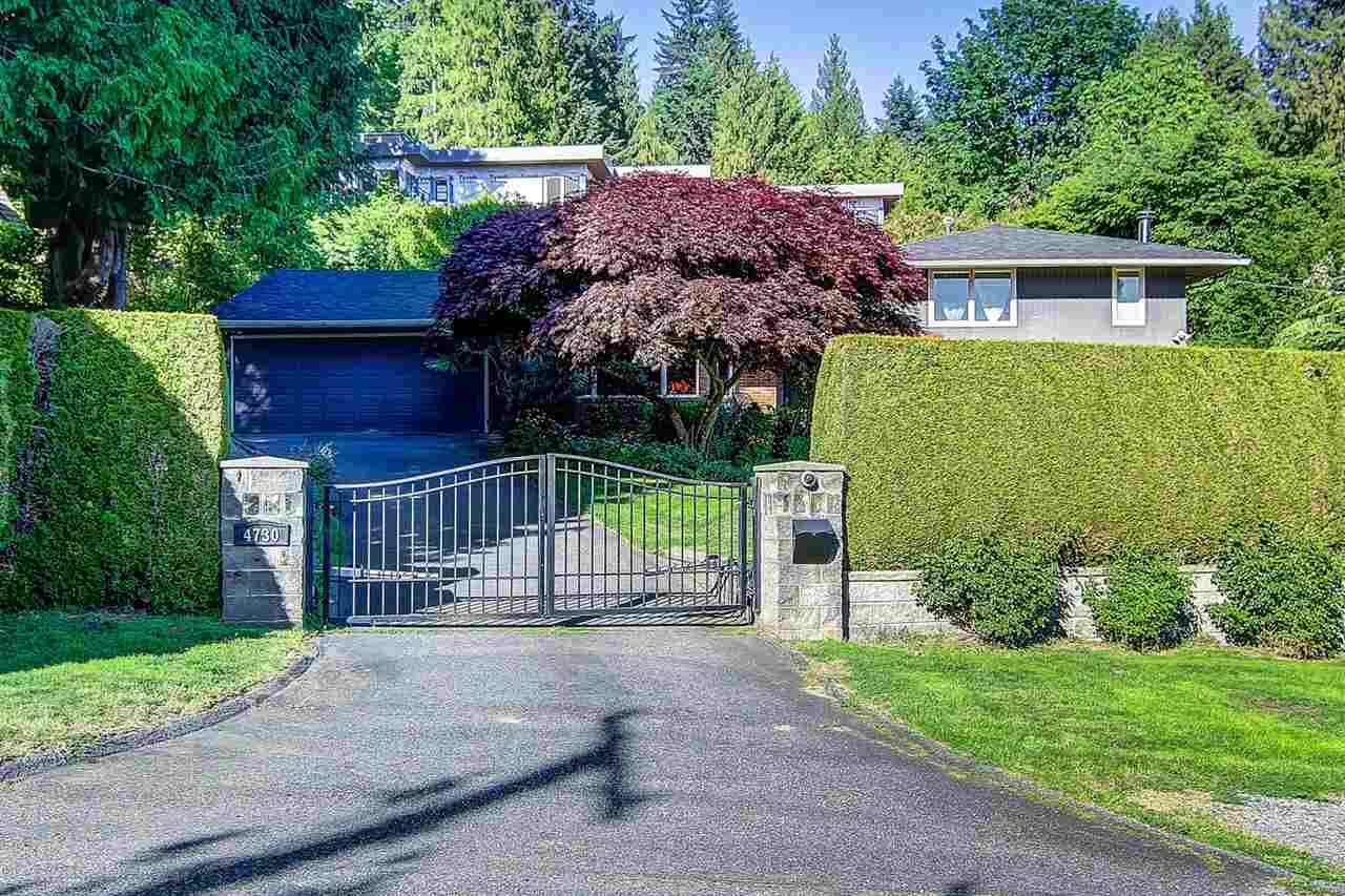 4730 WILLOW CREEK ROAD, West Vancouver, BC, V7W 1C4 Photo 1
