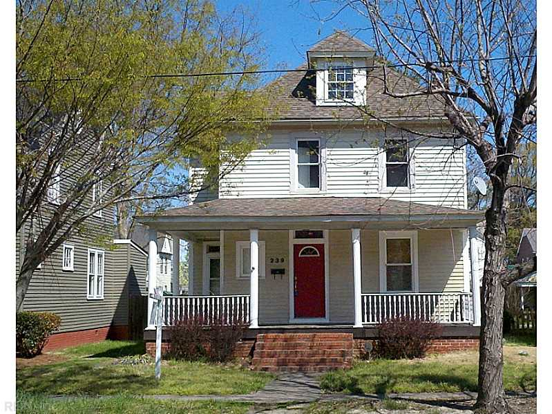 239  MARYLAND AVE, Portsmouth, VA, 23707 Primary Photo