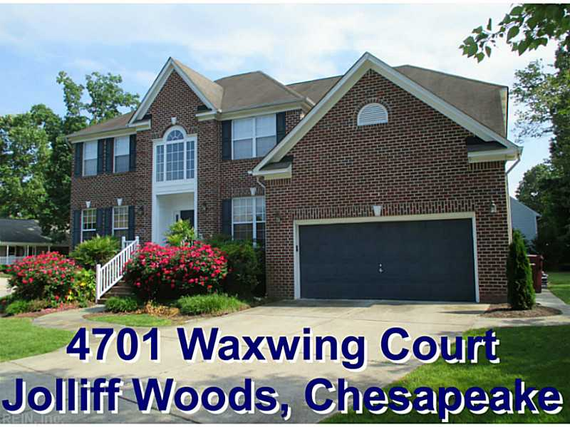 4701  WAXWING CT, Chesapeake, VA, 23321 Primary Photo