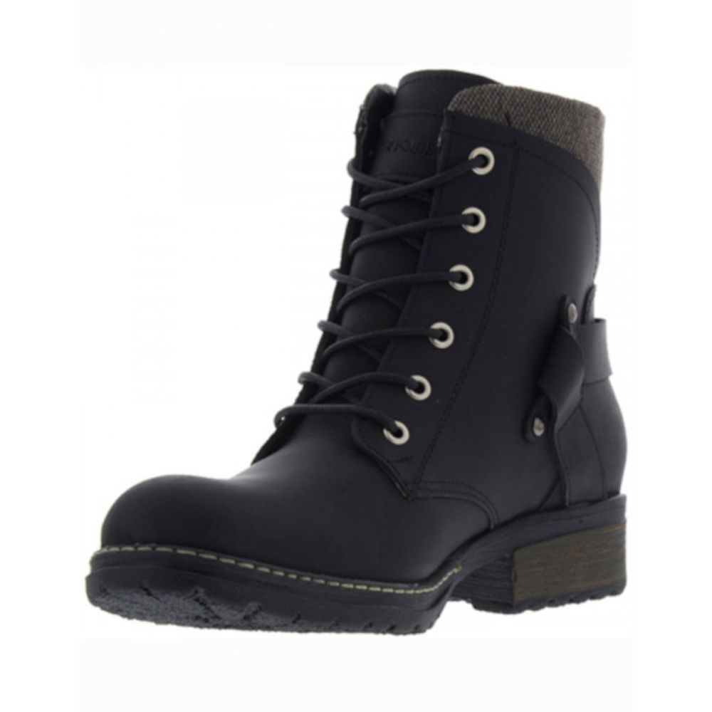 bota casual mujer ms-501 color negro