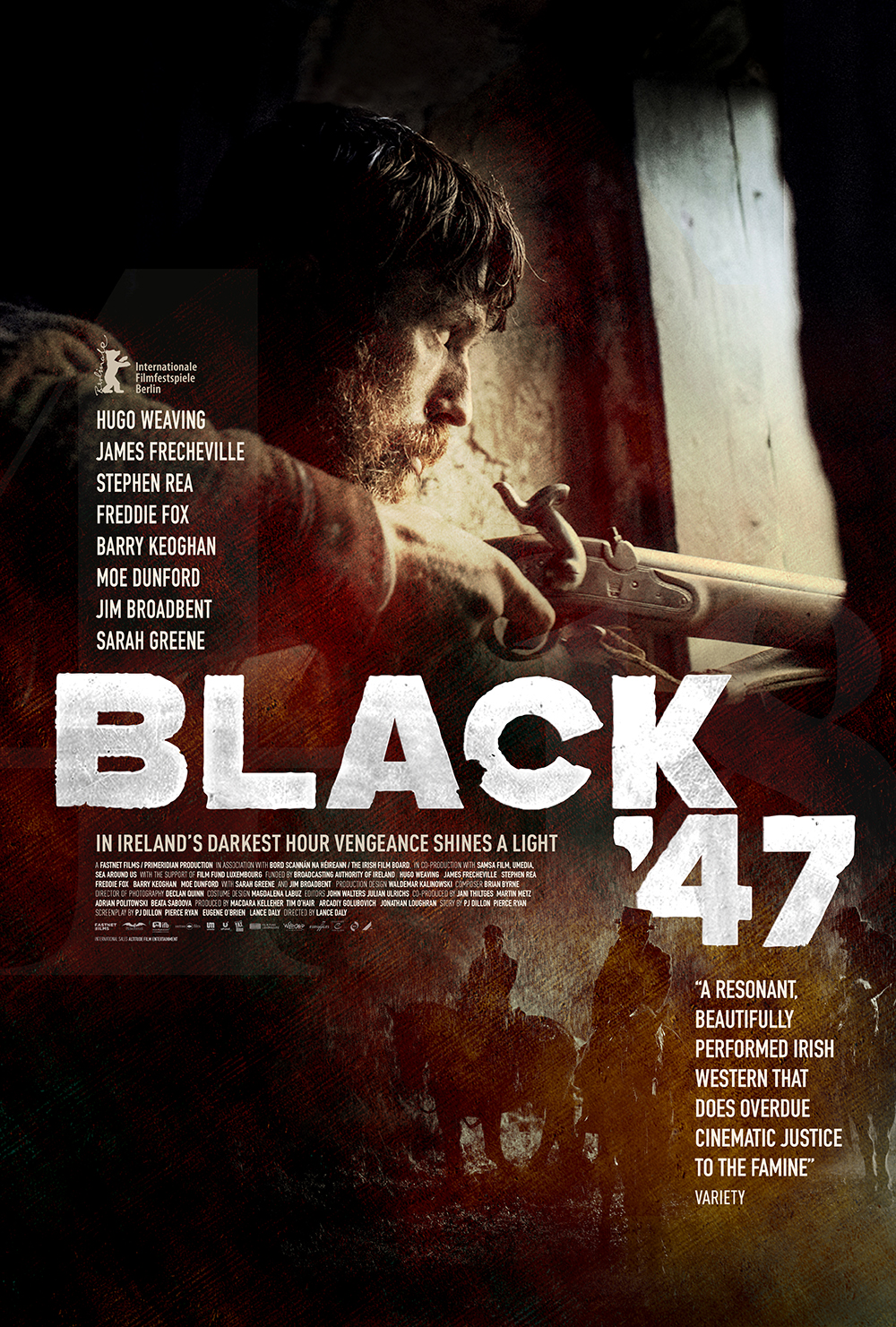 Black 47 Teaser Poster