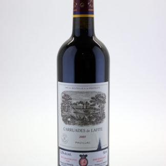 2007  Carruades Lafite - 750 ml - nk