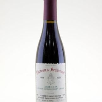 1998 Beaucastel Chateauneuf Du Pape - 375 ml