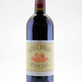 1998  Clos L'Eglise (Pomerol) - 750 ml