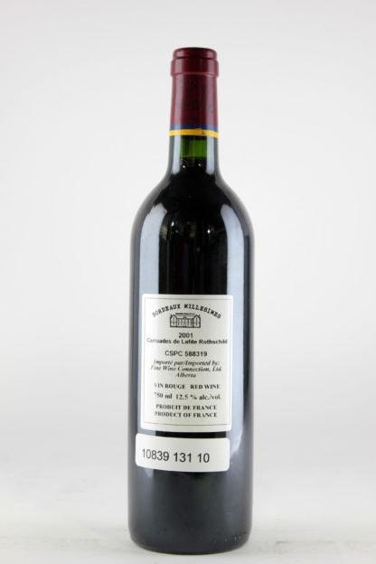2001 Carruades Lafite - 750