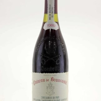 1989 Beaucastel Chateauneuf Du Pape - 750 mL