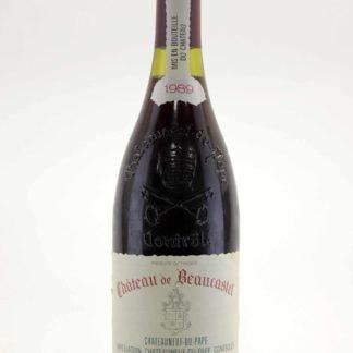 1989 Beaucastel Chateauneuf Du Pape - 750 mL