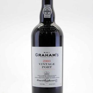 2003 Graham Vintage Port - 750 mL