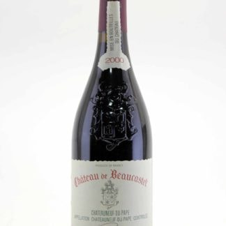 2000 Beaucastel Chateauneuf Du Pape - 750 mL