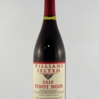 2010 William Selyem Selyem Estate Vineyard Pinot Noir - 750 mL