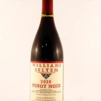 2010 Williams Selyem Precious Mountain Pinot Noir - 750 mL