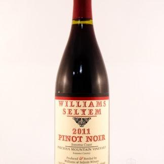 2011 Williams Selyem Precious Mountain Pinot Noir - 750 mL