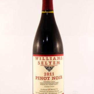2011 Williams Selyem Hirsch Pinot Noir - 750 mL