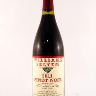 2011 Williams Selyem Coastlands Vineyard Pinot Noir - 750 mL