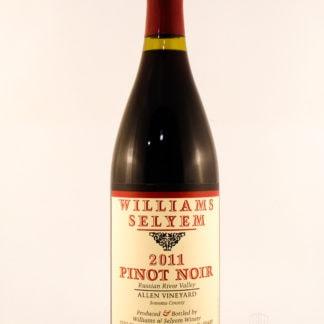 2011 Williams Selyem Allen Pinot Noir - 750 mL