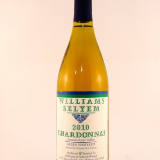 2010 Williams Selyem Chardonnay Allen - 750 mL