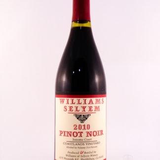 2010 Williams Selyem Coastlands Vineyard Pinot Noir - 750 mL
