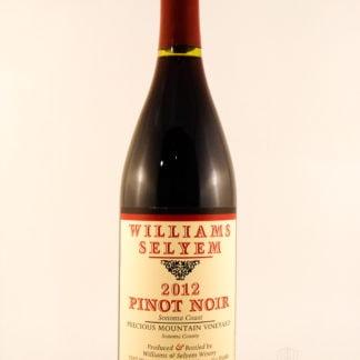 2012 Williams Selyem Precious Mountain Pinot Noir - 750 mL