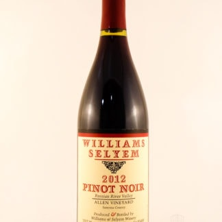 2012 Williams Selyem Allen Pinot Noir - 750 mL