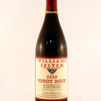2010 Williams Selyem Allen Pinot Noir - 750 mL