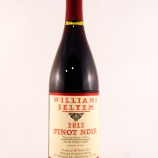 2012 William Selyem Foss Pinot Noir - 750 mL