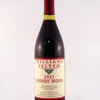 2011 Williams Selyem Pinot Noir Sonoma Coast - 750 mL