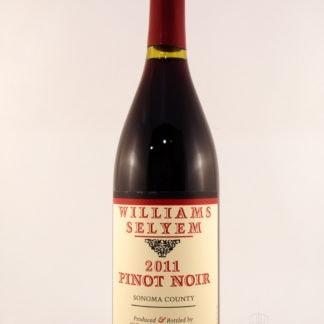 2011 Williams Selyem Pinot Noir Sonoma County - 750 mL