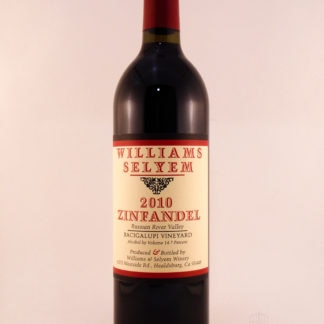 2010 Williams Selyem Zinfandel Bacigalupi Vineyard - 750 mL