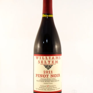 2011 Williams Selyem Russian River Valley Pinot Noir Westside Road Neig - 750 mL