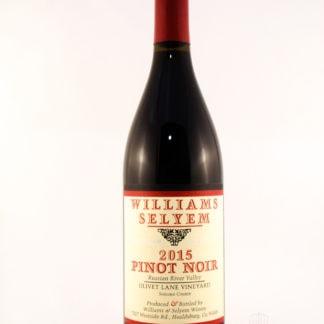 2015 William Selyem Olivet Lane Vineyard Pinot Noir - 750 mL