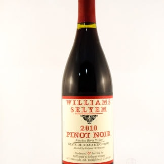 2010 Williams Selyem Russian River Valley Pinot Noir Westside Road Neig - 750 mL