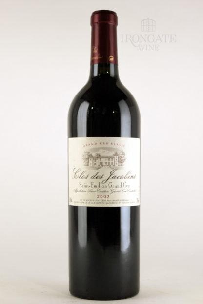 2002 Clos Jacobins - 750 ml