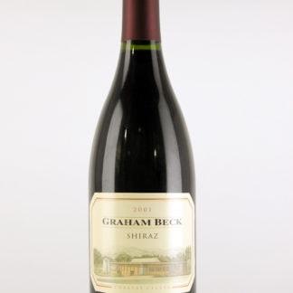2001 Graham Beck Shiraz The Game Reserve - 750 ml