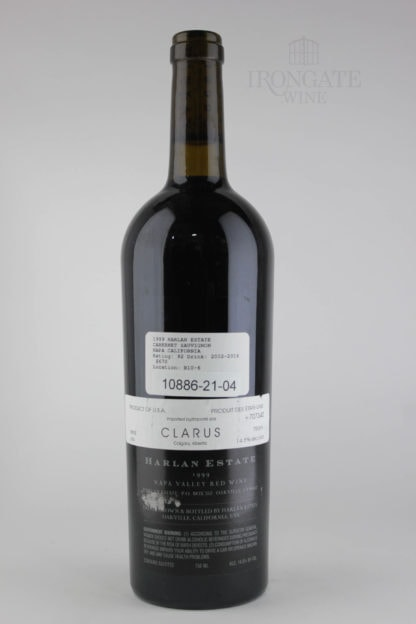1999 Harlan Cabernet Sauvignon - 750 mL