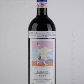 2000 Roberto Voerzio Barolo Cerequio - 750 mL