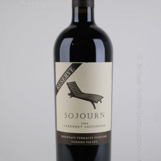2006 Sojourn Moutain Terraces Reserve - 750 mL