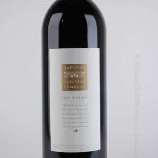 2001 Barossa Old Vine Company Shiraz - 1500 ml