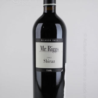2002 Riggs Shiraz - 750 mL
