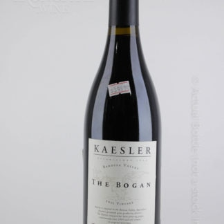 2001 Kaesler Bogan Shiraz - 750 mL